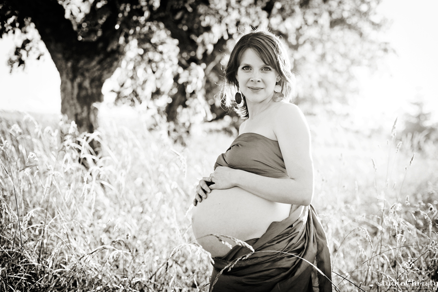 Studio Christy Maternity Photography Portland Oregon